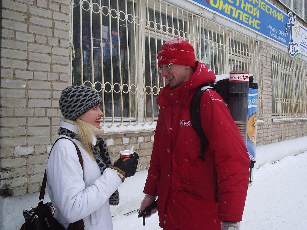 Promo - Nescafe Чистая энергия - январь 2004